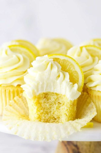 The Fluffiest Lemon Cupcakes with Creamy Lemon Frosting