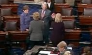 Democrats Give Each Other High Five After Voting to Block Bill to Stop Infanticide