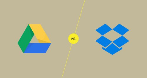 Which Do You Prefer: Google Drive or Dropbox?