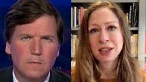 Tucker Carlson Fires Back At Chelsea Clinton After She Demands Facebook Ban Him