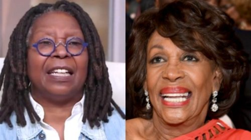 Whoopi Goldberg Defends Maxine Waters - 'After Four Years of Real Race-Baiting,' Republicans Want To Expel Her