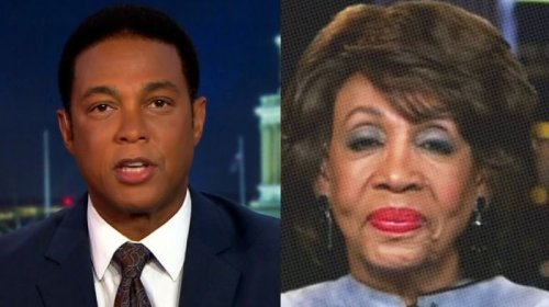 Don Lemon Declares 'People With Half A Brain' Know Maxine Waters Didn't Incite Violence