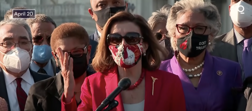 House Speaker Nancy Pelosi Thanks George Floyd For His Sacrifice?