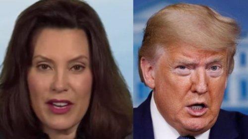 Gretchen Whitmer Claims GOP Legislature Hasn't Deployed Resources Trump Sent To Michigan