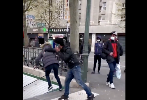 [VIDEO] Disturbing Video Out of Paris Shows Cultures Clashing in Shocking Way
