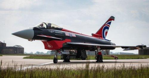 RAF fighter jet heard over Notts as it intercepted civilian aircraft