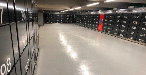 Auchan ouvre le plus grand pool de casiers de France