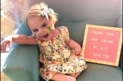 Baby Valentina is home after spending her first 694 days since birth in the hospital