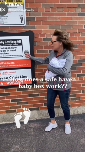 Viral TikTok shows how Safe Haven Baby Boxes save lives