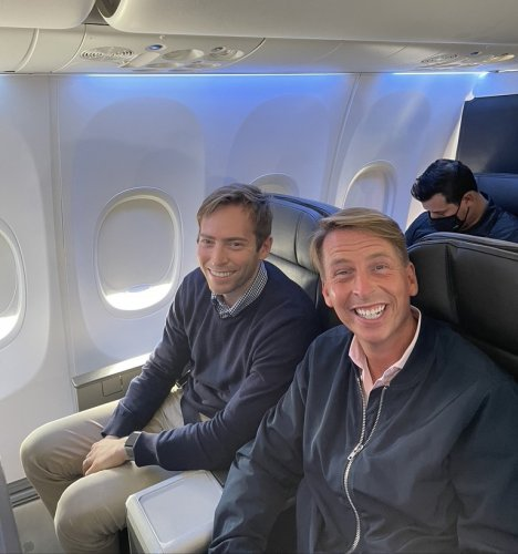 I Sat Next To The Kindest Celebrity On My American Airlines Flight