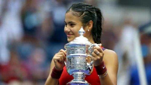 Emma Raducanu is youngest Grand Slam champion since Maria Sharapova