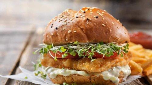 A fish burger you can make at home