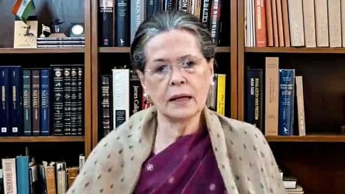 Sonia Gandhi reviews efforts to tackle COVID-19 in Cong-ruled states