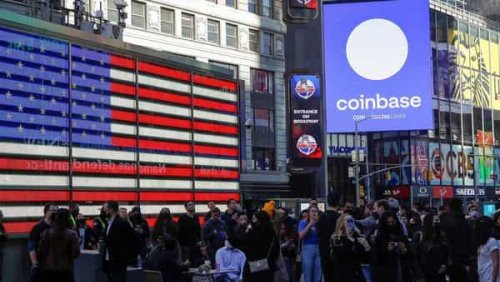Coinbase Chief Executive Armstrong sold $291.8 million in shares on opening day