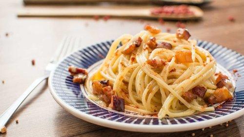 The secret to a classic Italian Carbonara