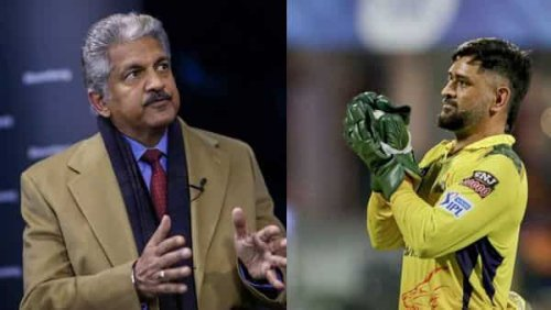 'BALANCE', tweets Anand Mahindra reminiscing leadership lesson from MS Dhoni
