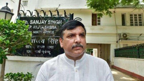 AAP MLA Sanjay Singh's Delhi residence vandalised, two arrested