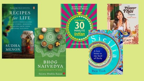 Five new cookbooks for your kitchen shelf