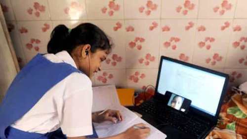 India transitioned well to online learning, but parents felt financial strain
