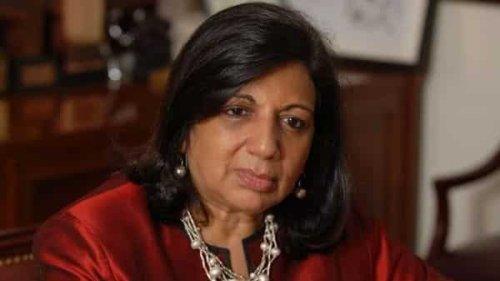 Biocon chief Kiran Mazumdar-Shaw expresses concern over Covid vaccine shortage