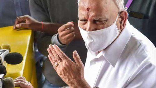 Dismayed over Yediyurappa's resignation, supporters in his hometown shut shops