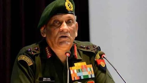 Chinese Army has realized it needs to be better trained: CDS Bipin Rawat
