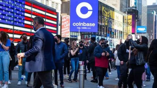 Coinbase Churns as Jitters Overshadow Wall Street's Optimism