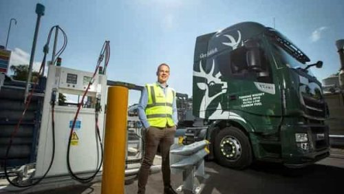 High on fuel: This Scotch maker is using whisky waste to run trucks