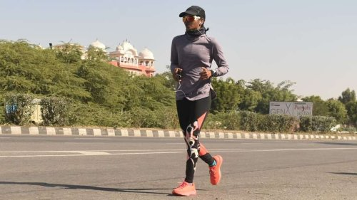 The story of Sufiya, India's record breaking long distance runner