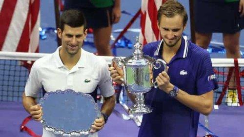 Novak Djokovic's Grand Slam bid foiled as Daniil Medvedev wins US Open