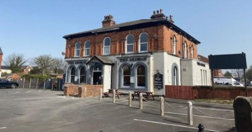 Pub on the market for £500k with four bedroom flat upstairs