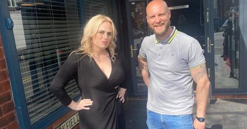 Rebel Wilson turns up at Crosby restaurant for her lunch