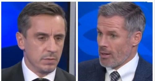Every word of Carragher's passionate seven-minute exchange with Gary Neville