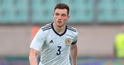 Andy Robertson's classy gesture to Scotland teammates ahead of Euro 2020