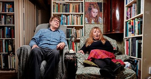 Gogglebox stars Giles and Mary's life together off screen