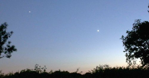 You can see the moon and five planets from earth tonight