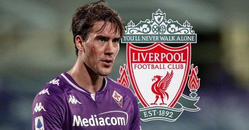 Dusan Vlahovic sends Liverpool fans wild after scoring seven goals in one half
