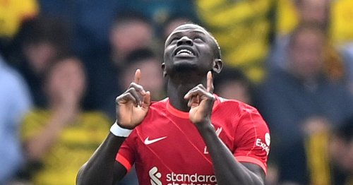 Sadio Mane given special gift after reaching Premier League milestone