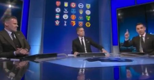 Jamie Carragher and Gary Neville pick combined Liverpool and Man Utd XI