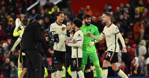 What happened in Liverpool dressing room after Man Utd win