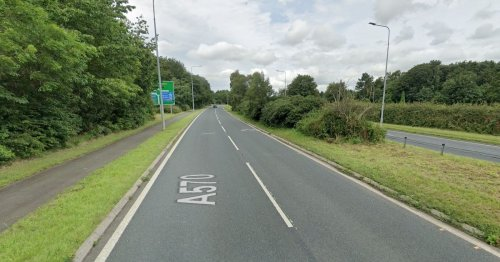 Learner motorbike rider, 20, dies after crashing into signpost
