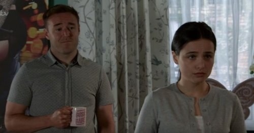 Coronation Street's Alina and Tyrone 'go too far' with baby plans