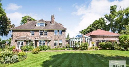 Sprawling £1.25m mansion for sale with nine bathrooms and a pool