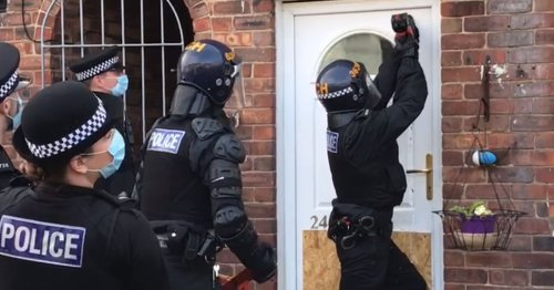 Homes raided across Merseyside as police swoop on gang suspects