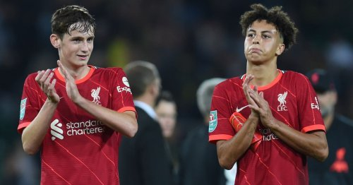 Liverpool ready to hand Kaide Gordon and next generation latest Anfield exposure