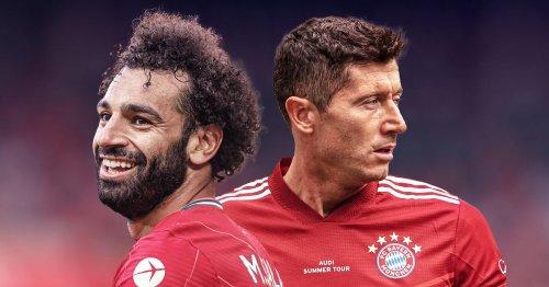 Klopp makes Lewandowski comparison to 'goal machine' Salah