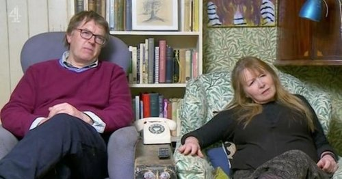 Gogglebox Giles and Mary share rare glimpse of two daughters