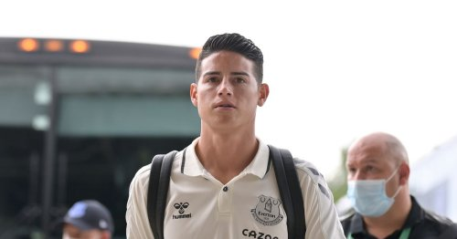 Everton team vs Pumas confirmed as James Rodriguez benched