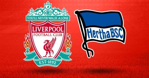Liverpool vs Hertha Berlin LIVE