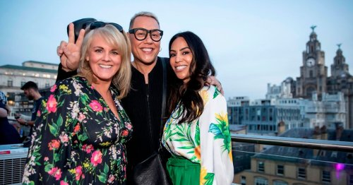 Gok Wan and Coronation Street stars party in Liverpool